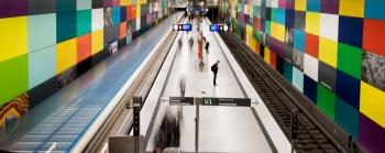 U-Bahn Muenchen (2 von 20)