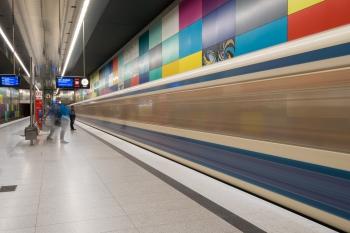 U-Bahn Muenchen (5 von 20)