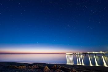 Bildnummer N 011  Prerow Nachts