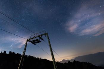Bildnummer N 020 Sterne am Brauneck