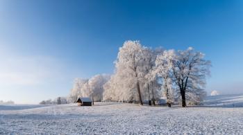 Winterlandschaft Wessobrunn DAV3131