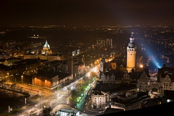 Bildnummer N 006  Leipzig  vom Panoramatower