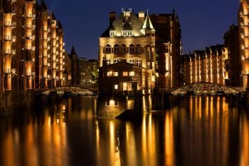 Bildnummer N 016 Wasserschloss Hamburg